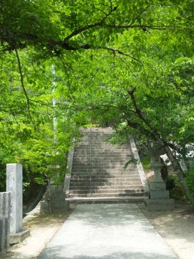 安芸高田市吉田町の神社の駐車場について(清神社)