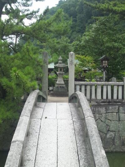 人口の池があるぞ。なんだろう、これ。天別豊姫神社の境内の池