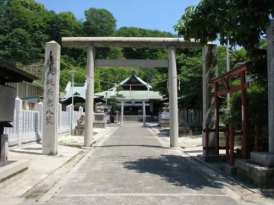 現在美術館・マンガ図書館が近くにあります!比治山神社へ行ってきました